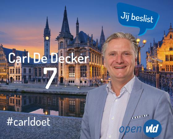 Carl Dedecker Campagneflyer 2018
