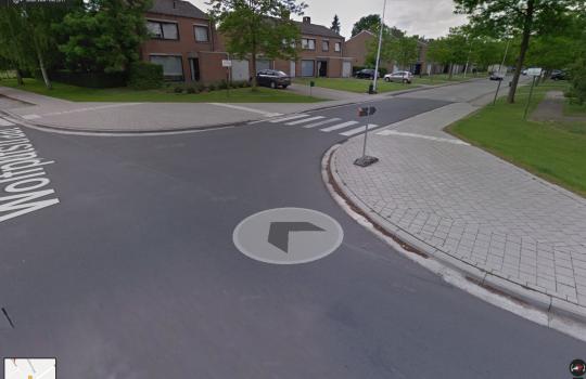 Verkeersveiligheid Jozef Cardijnlaan Oostakker