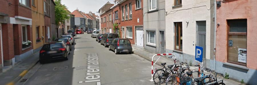 Wegdek Liermanstraat Gent