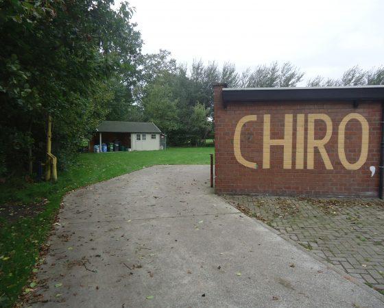 Spiegel hoek Chiro Lourdes Groenstraat Oostakker