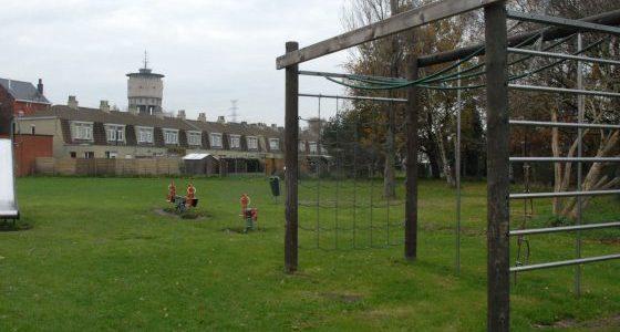 Onderhoud en sluikstorten Sleutelbloempark Sint-Bernadettestraat